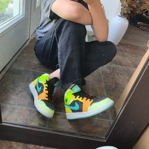Nike Air Jordan 1 Four Leaf Clover